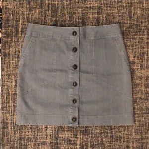 rag & bone denim mini skirt size 4